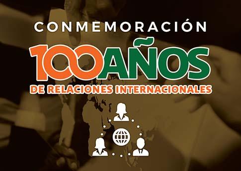 El Departamento de Relaciones Internacionales y Ciencia Política invita a la conmemoración: 100..