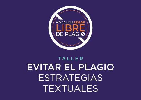 El Departamento de Letras, Humanidades e Historia del Arte invita al taller: Evitar el plagio.