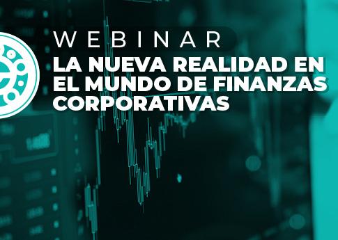 UDLAP Consultores invita al webinar: La nueva realidad del mundo de finanzas corporativas.