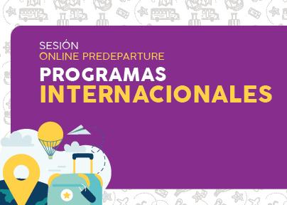 International Affairs Office invita a la sesión de programas internacionales.