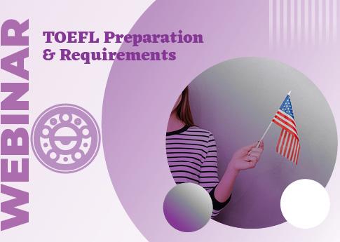 UDLAP Consultores invita al webinar: TOEFL preparation & requirements.