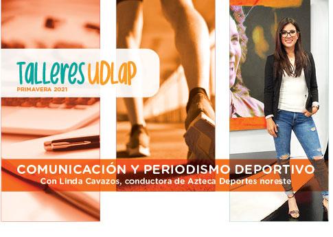 El Departamento de Desarrollo Estudiantil invita a la plática de Comunicación y Periodismo Depo..