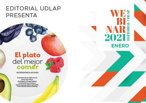 Editorial UDLAP invita al webinar: El plato del mejor comer.