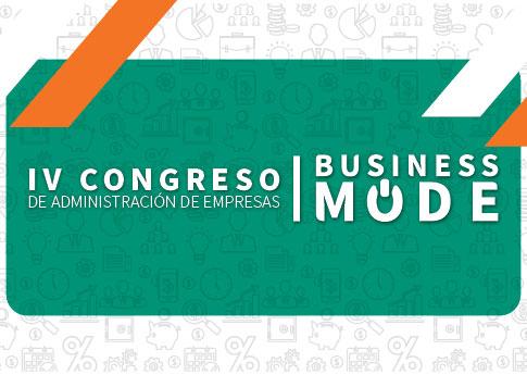El Departamento de Administración de Empresas invita al IV Congreso de Administración de Empres..