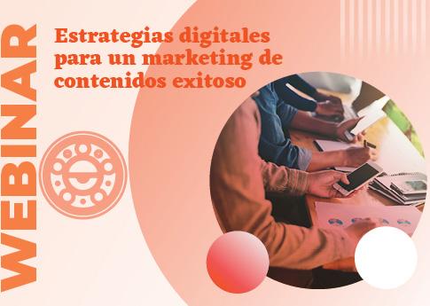 UDLAP Consultores invita al webinar: Estrategias para un marketing de contenidos exitoso.