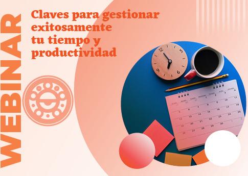 UDLAP Consultores invita al webinar: Claves para gestionar exitosamente tu tiempo y productivid..