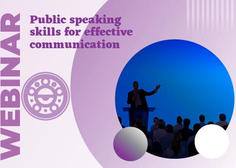 UDLAP Consultores invita al webinar: Public speaking skills for effective communication.