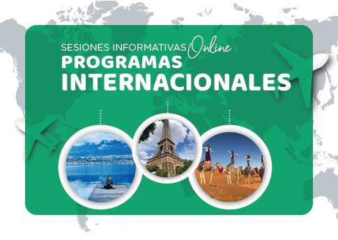 La Dirección de Asuntos Internacionales invita a la sesión informativa de programas internacion..