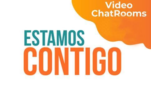 El Departamento de Desarrollo Estudiantil invita a los video chatrooms.