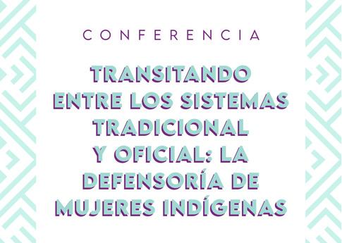 El Departamento de Antropología invita a la conferencia: Transitando entre los sistemas tradici..