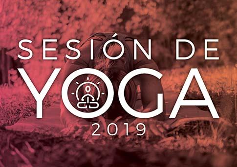 El Departamento de Liderazgo Estudiantil invita a la sesión de yoga.