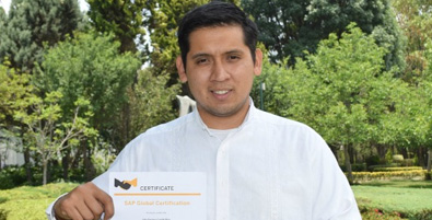 JULIO ENRIQUE CASTILLO RUIZ - RECIBE CERTIFICACIÓN COMO CONSULTOR SAP EN EL MÓDULO DE PRODUCTION PLANNING